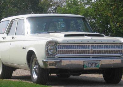 65 Plymouth Wagon