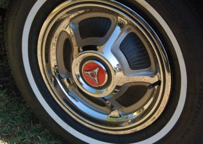 69 Charger Hubcap