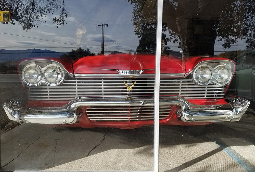 1958 Plymouth – lower grill trim