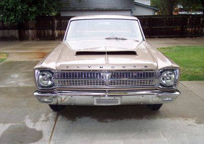 65 Plymouth Belvedere - Trim Restoration