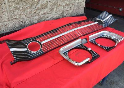 1968 Dodge Dart Front Grill H. Bezels
